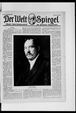 Berliner Tageblatt und Handels-Zeitung vom 28.07.1918