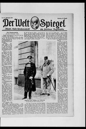 Berliner Tageblatt und Handels-Zeitung vom 25.08.1918
