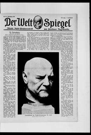 Berliner Tageblatt und Handels-Zeitung vom 01.09.1918