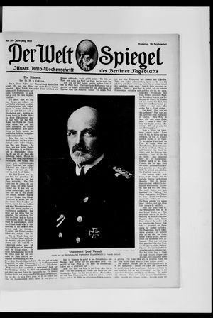 Berliner Tageblatt und Handels-Zeitung vom 29.09.1918