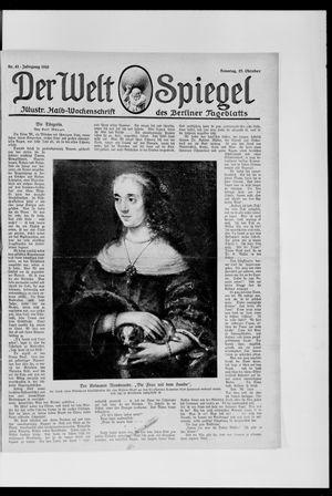 Berliner Tageblatt und Handels-Zeitung on Oct 27, 1918