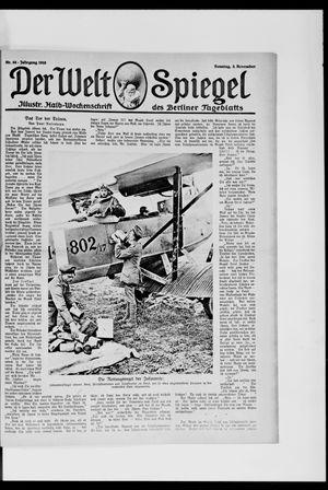 Berliner Tageblatt und Handels-Zeitung vom 03.11.1918