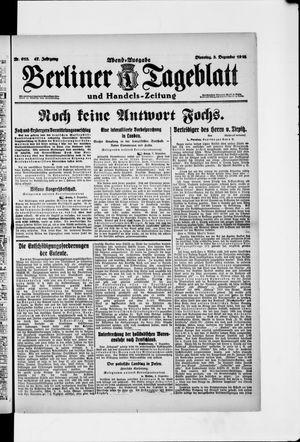 Berliner Tageblatt und Handels-Zeitung vom 03.12.1918