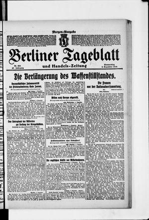 Berliner Tageblatt und Handels-Zeitung vom 05.12.1918