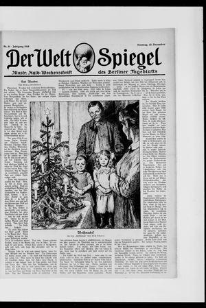 Berliner Tageblatt und Handels-Zeitung vom 22.12.1918