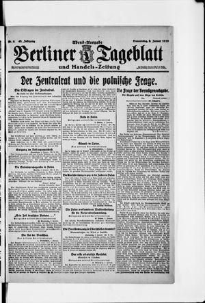 Berliner Tageblatt und Handels-Zeitung vom 02.01.1919