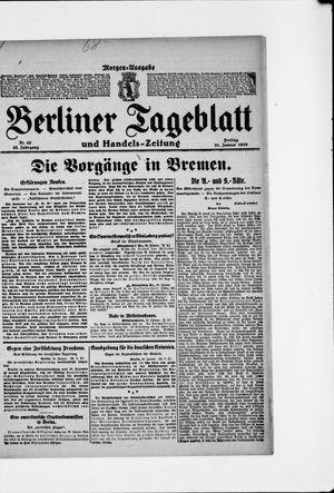 Berliner Tageblatt und Handels-Zeitung vom 31.01.1919