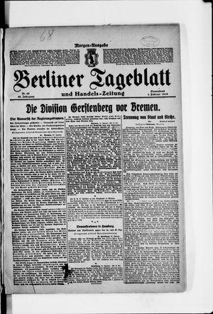 Berliner Tageblatt und Handels-Zeitung vom 01.02.1919