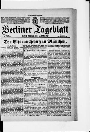 Berliner Tageblatt und Handels-Zeitung vom 23.02.1919