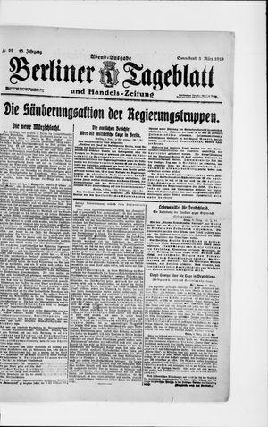 Berliner Tageblatt und Handels-Zeitung on Mar 8, 1919