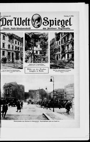 Berliner Tageblatt und Handels-Zeitung vom 16.03.1919
