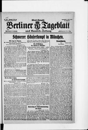 Berliner Tageblatt und Handels-Zeitung vom 03.05.1919