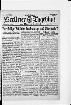 Berliner Tageblatt und Handels-Zeitung vom 05.05.1919