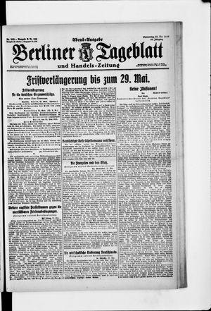 Berliner Tageblatt und Handels-Zeitung vom 22.05.1919