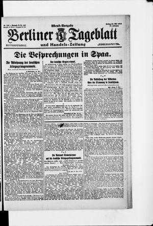 Berliner Tageblatt und Handels-Zeitung vom 23.05.1919