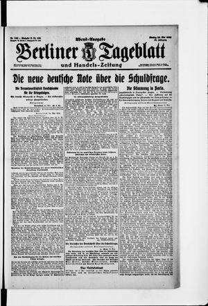 Berliner Tageblatt und Handels-Zeitung vom 26.05.1919