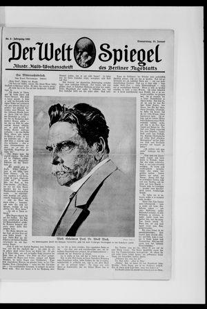 Berliner Tageblatt und Handels-Zeitung vom 15.01.1920