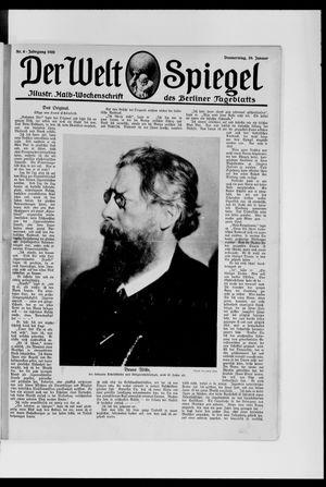 Berliner Tageblatt und Handels-Zeitung vom 29.01.1920