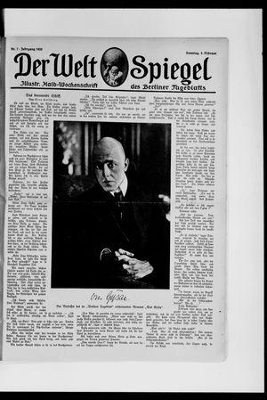 Berliner Tageblatt und Handels-Zeitung vom 01.02.1920