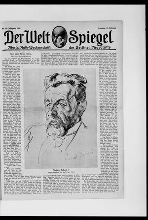 Berliner Tageblatt und Handels-Zeitung vom 15.02.1920