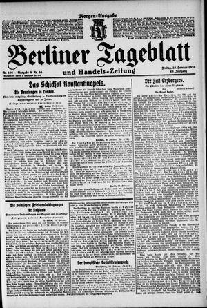 Berliner Tageblatt und Handels-Zeitung vom 27.02.1920