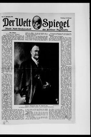 Berliner Tageblatt und Handels-Zeitung vom 29.02.1920