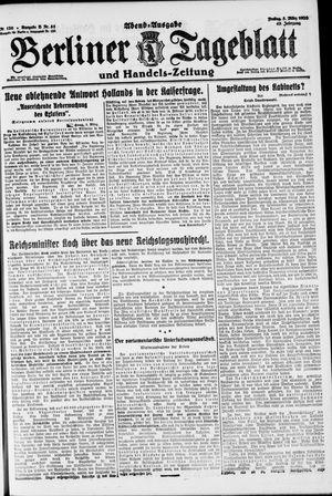 Berliner Tageblatt und Handels-Zeitung vom 05.03.1920