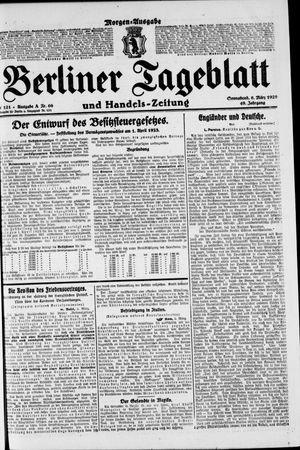 Berliner Tageblatt und Handels-Zeitung vom 06.03.1920