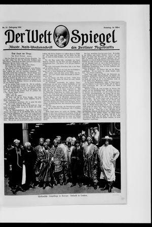 Berliner Tageblatt und Handels-Zeitung vom 14.03.1920
