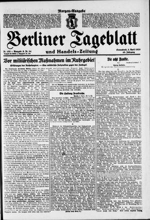 Berliner Tageblatt und Handels-Zeitung vom 03.04.1920