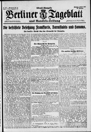 Berliner Tageblatt und Handels-Zeitung vom 06.04.1920
