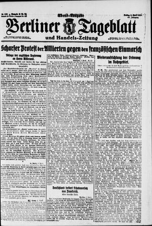 Berliner Tageblatt und Handels-Zeitung vom 09.04.1920
