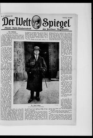 Berliner Tageblatt und Handels-Zeitung vom 18.04.1920
