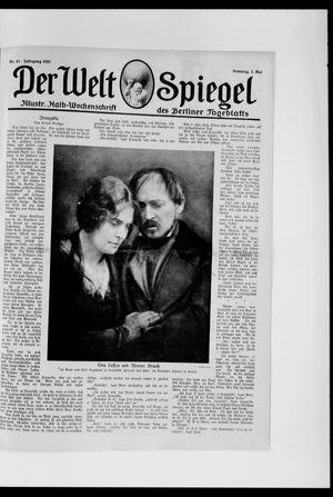 Berliner Tageblatt und Handels-Zeitung vom 02.05.1920