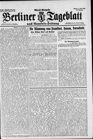 Berliner Tageblatt und Handels-Zeitung vom 17.05.1920