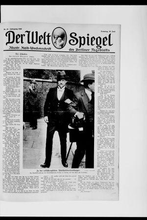 Berliner Tageblatt und Handels-Zeitung vom 20.06.1920