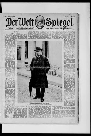 Berliner Tageblatt und Handels-Zeitung vom 02.01.1921
