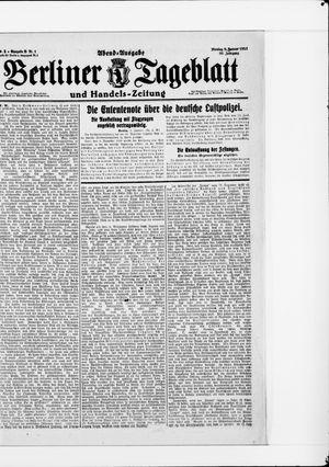 Berliner Tageblatt und Handels-Zeitung vom 03.01.1921