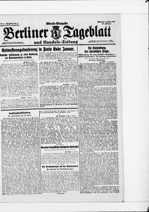 Berliner Tageblatt und Handels-Zeitung vom 05.01.1921