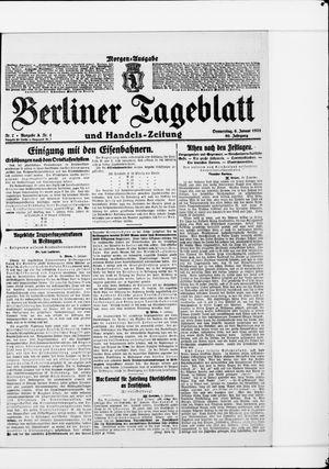 Berliner Tageblatt und Handels-Zeitung vom 06.01.1921