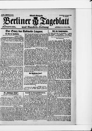Berliner Tageblatt und Handels-Zeitung vom 13.01.1921