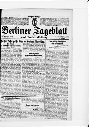 Berliner Tageblatt und Handels-Zeitung vom 05.02.1921