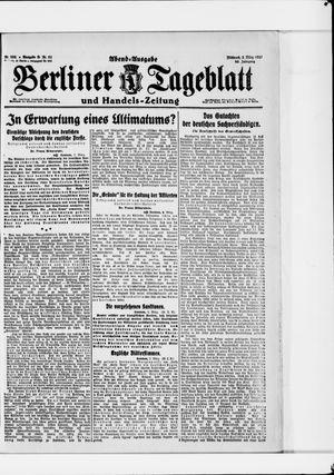 Berliner Tageblatt und Handels-Zeitung vom 02.03.1921