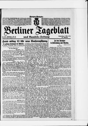 Berliner Tageblatt und Handels-Zeitung vom 03.03.1921