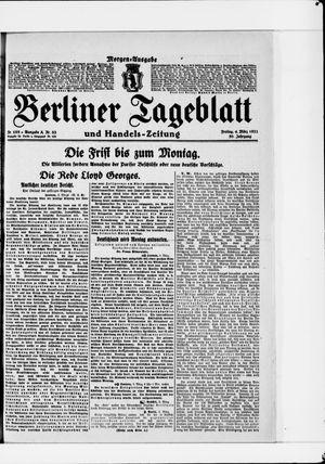 Berliner Tageblatt und Handels-Zeitung vom 04.03.1921
