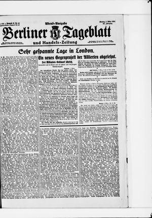 Berliner Tageblatt und Handels-Zeitung vom 07.03.1921