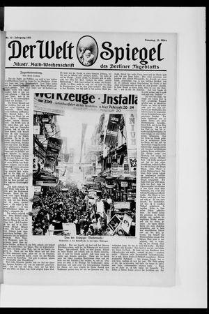 Berliner Tageblatt und Handels-Zeitung vom 13.03.1921