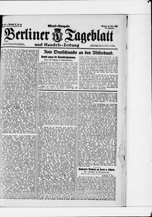 Berliner Tageblatt und Handels-Zeitung vom 14.03.1921