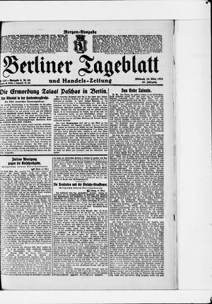 Berliner Tageblatt und Handels-Zeitung vom 16.03.1921