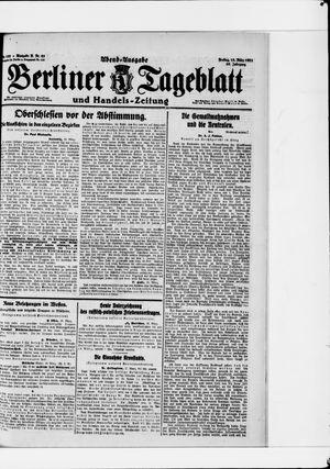 Berliner Tageblatt und Handels-Zeitung vom 18.03.1921